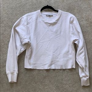 All saints crop sweatshirt xs. Perfect condition!